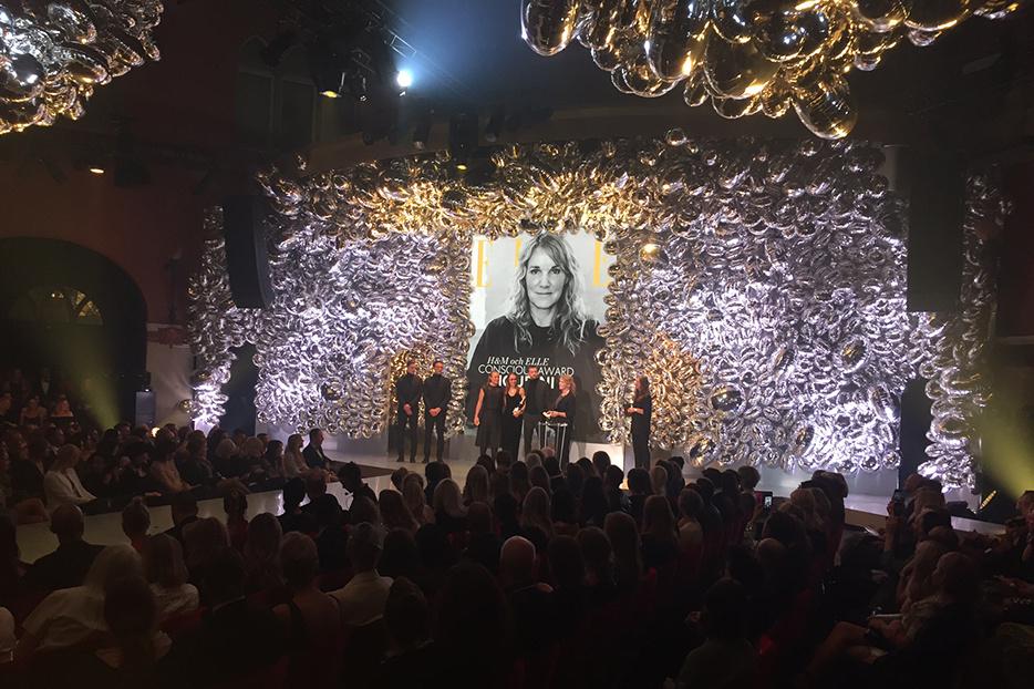 Houdini vinner Conscious Award på Elle-galan