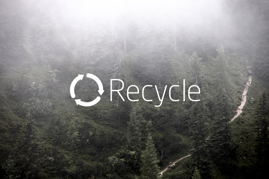 Our focus on recycling
