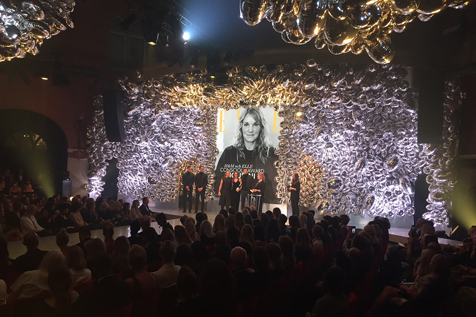 Houdini wins Conscious Award at the Elle gala 2017
